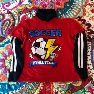 2T Soccer Long Sleeved Shirt